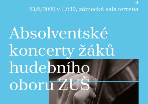 Absolventské koncerty žáků