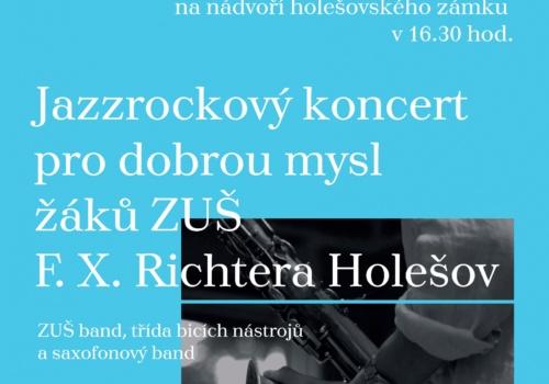 Jazzrockový koncert pro dobrou mysl