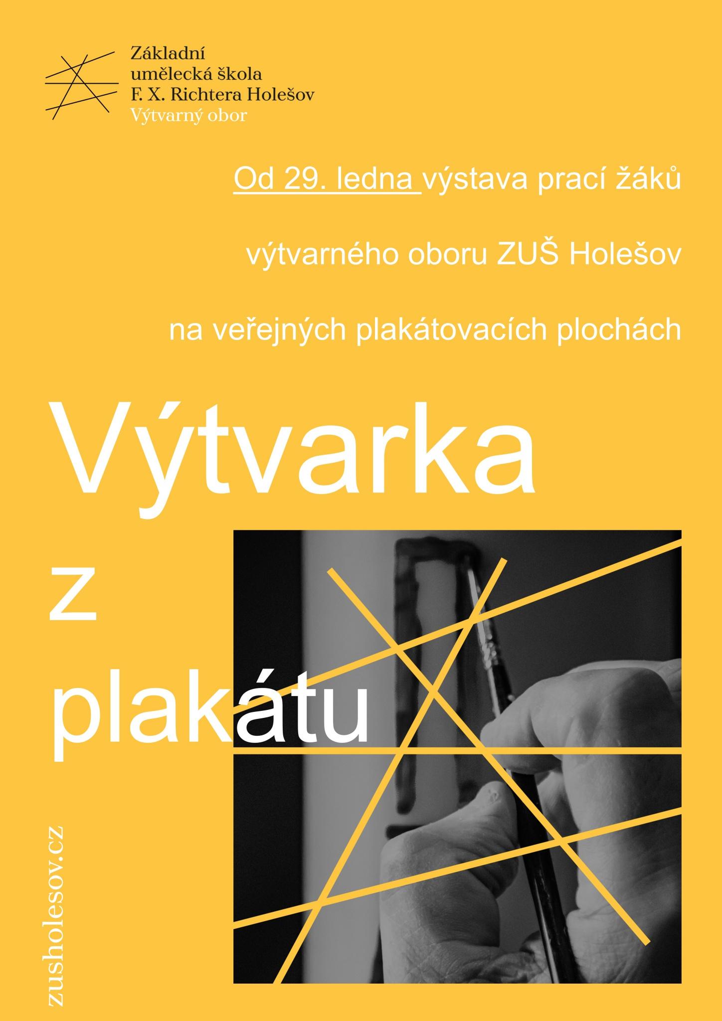 Výtvarka z plakátu